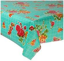 Fantastik - Turquoise Rosedal Oilcloth