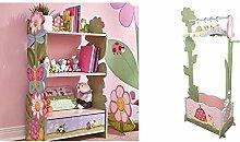 Fantasy Fields - Magic Garden themed Pink Book