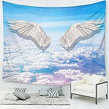 Fantasy Mystery Wing Feather Tapestry Wall Hanging