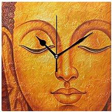 FANTAZIO Square Alarm Clock for Kids Buddha