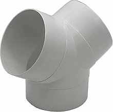 FANTRONIX 6 inch 150mm Plastic Round Ducting for