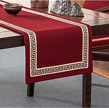 FANXU Pure Color Table Runner New Chinese Table