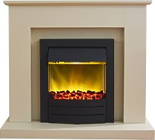 Fareham Fireplace Suite in Stone Effect with