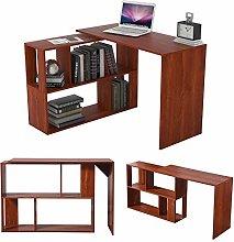 Farelves Computer Desk Corner Desk Office Desk for