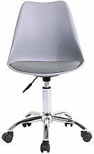 Farelves Office Chair Height Adjustable Plastic