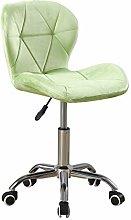 Farelves Velvet Desk Chair Green for Home Office