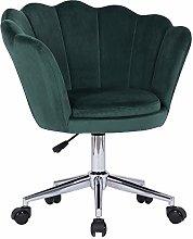 Farelves Velvet Desk Chair Swivel Computer Chair