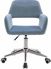 Farelves Velvet Office Chair Adjustable Height