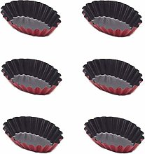 Farfly 20 Pcs Reusable Egg Tart Mold Cupcake and