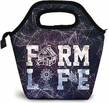 Farm Life Farmer Lover Gift Farming Lunch Bag for