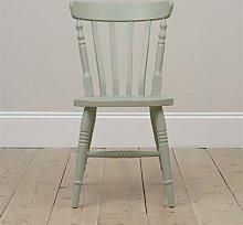 Farmhouse Sage Green Kitchen Chair