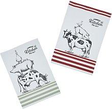Farmhouse Tea Towel Set KitchenCraft