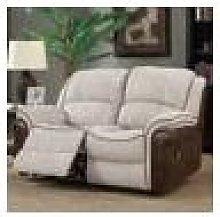 Farnham Fusion Mink Fabric Sofa 2 Seat Recliner