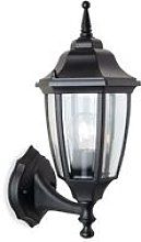 Faro - 1 Light Outdoor Wall Lantern - Uplight