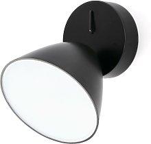 Faro Flash - LED Indoor Wall Light Black