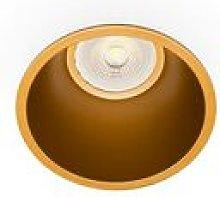 Faro Fresh - Gold Round Downlight GU10