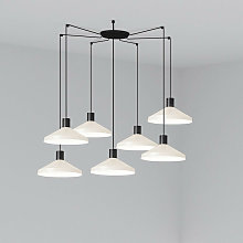 Faro KOMBO - Cluster Pendant Ceiling Light Beige,