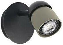 Faro Lighting - Faro Coco - Wall Spotlight Black,