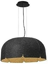Faro Mute - LED Pendant Dark Grey Brown 36W