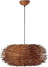 Faro Nido - 1 Light Ceiling Pendant Brown, E27