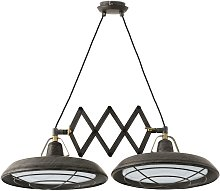 Faro Plec - LED 2 Light Double Adjustable Outdoor