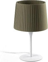 Faro SAMBA - Table Lamp Round Tapered Green, E27