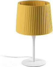 Faro SAMBA - Table Lamp Round Tapered Yellow, E27