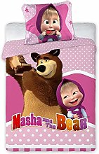 Faro Tekstylia Masha And The Bear Baby Bed Linen