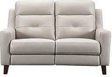 Farrow Leather 2 Seater Power Recliner Sofa