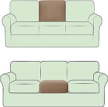 FASCINATDECO Stretch Couch Back Cover Cushion
