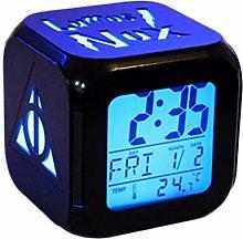 Fashion Creative 3D Stereo Alarm Clock Mute LED