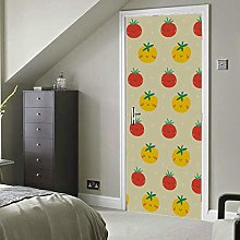 Fashion Creative Vegetables Tomatoes Self-Adhesive