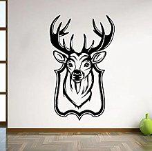 Fashion Deer Wall Decal Antlers Art Mural Door