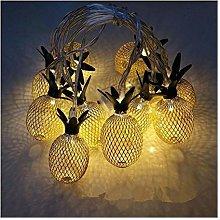 Fashion Fairy Lights, Retro Metal Pineapple Fruit