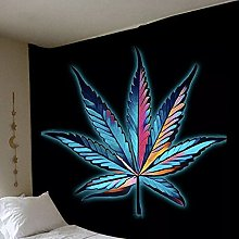 Fashion Maple Leaf Tapestry Wall Hanging Bedroom
