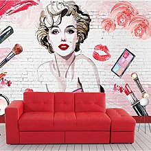 Fashion Marilyn Monroe Wallpaper Custom 3D