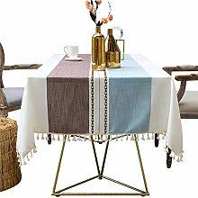 Fashion striped design solid decorative linen