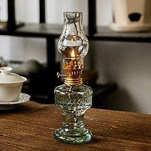 Fashion table lamp Glass Kerosene Lamp Vintage