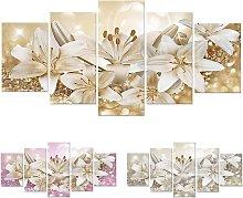 Fashion Wall Art Canvas Painting 5 Pieces Fashion