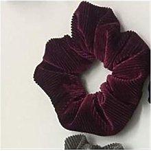 Fashion Women Lovely Velvet Striped Hair Bands