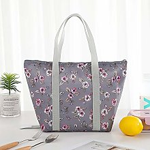 Fashionable Tote Bag Portable Cooler Bag Foldable