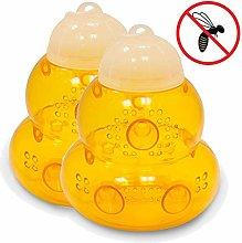 fasloyu Reusable Wasp Trap - 2Packs Wasp Trap
