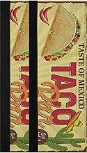 Fast Food Teacos Refrigerator Door Handle Covers 2