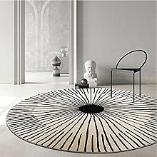 FASZFSAF Area Rugs Round Rug for Living Room
