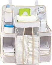 FATTERYU Baby Bed Diaper Hanging Holder Infant