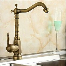 Faucet Antique Faucet Brass Finished Hot&Cold