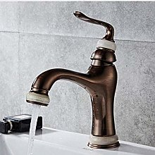 Faucet Basin Faucets Brushed Brown Brass Luxury