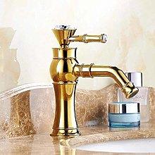 Faucet Bathroom Gold Basin Faucet Gold Finish