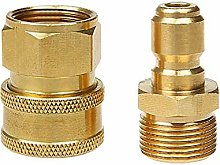 Faucet Connector Kit Garden Pipe Joint 2 Copper