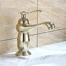 Faucet Copper Blender Faucet Retro Basin Brass